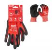 Перчатки Milwaukee с защитой от порезов уровень 1 размер L / 9 4932471417