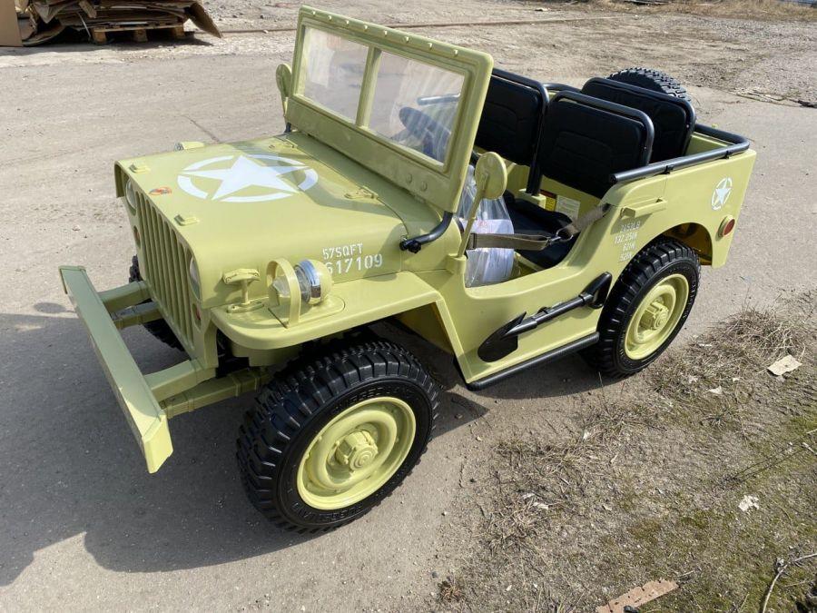 Детский электромобиль Jeep Willys