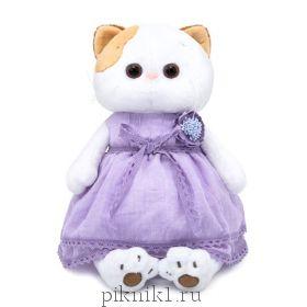 Кошечка Ли-Ли в лавандовом платье 24см
