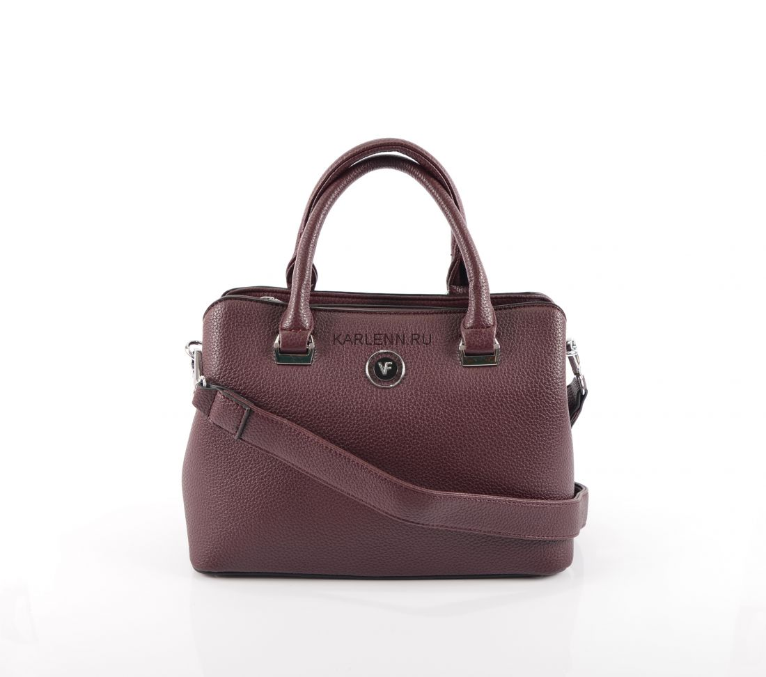 Женская сумка-тоут Velina Fabbiano (вишневая)
