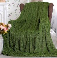 """Плед-одеяло с  длинным ворсом """"сирень""""  220х240 см №PL017"""