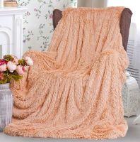 Плед-одеяло с  длинным ворсом  220х240 см №PL001