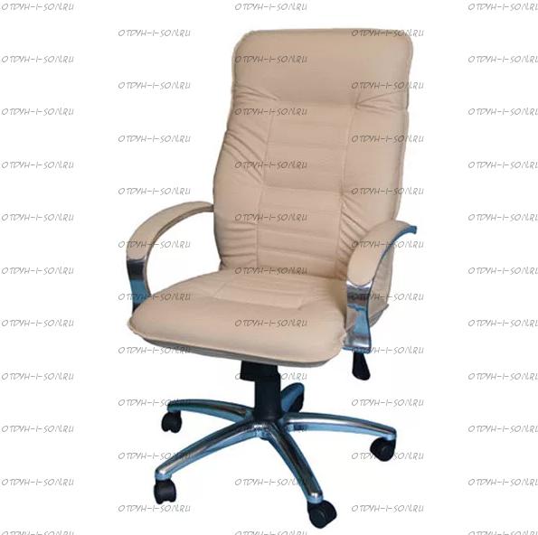 Кресло Астро 1Х хромированное эко-кожа