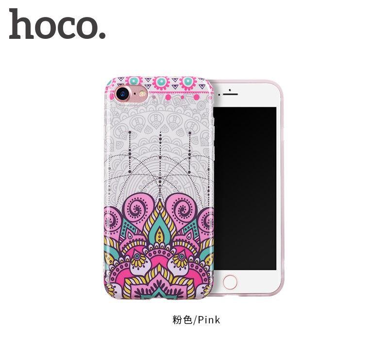 Защитный чехол HOCO Doren series для iPhone7 Plus/8 Plus, розовый