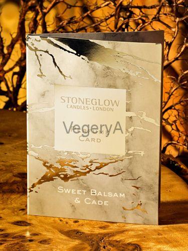 Ароматная карточка (визитка) Сладкий бальзам и кадэ Stoneglow Луна