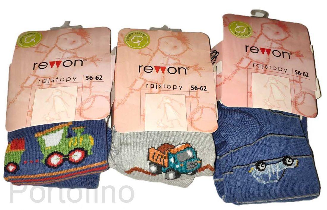 501-004G (56/62) Колготки детские с компьютерным рисунком для мальчиков Rewon