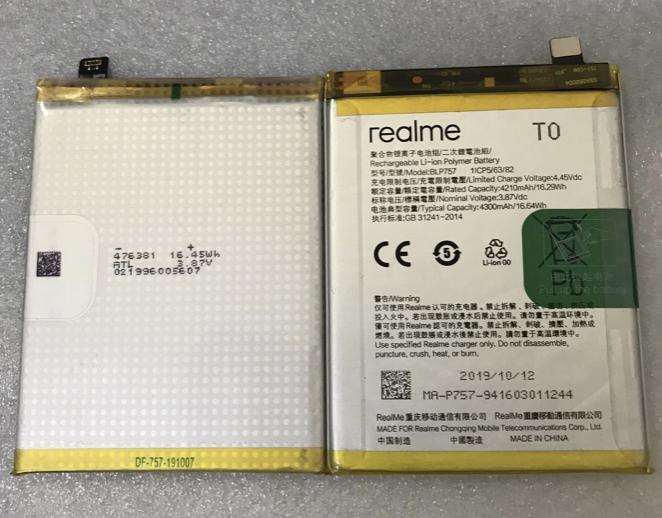 Аккумулятор Realme 6/6 Pro/6i (BLP757) Оригинал