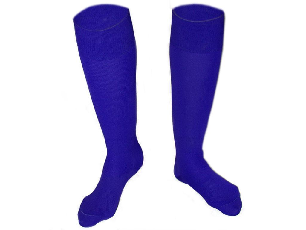 Гетры футбольные синие. размер 25-27., артикул 00461