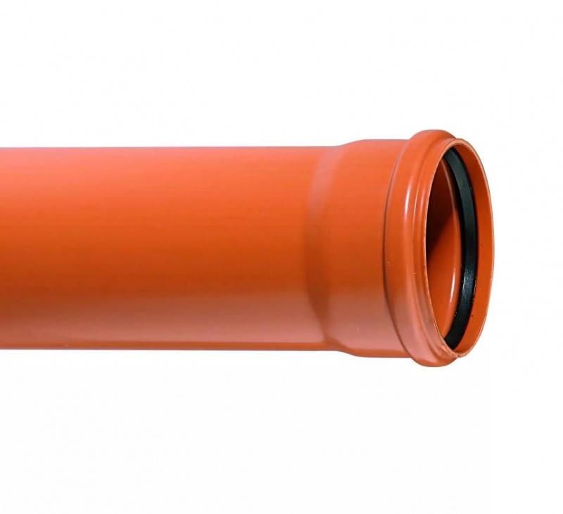 110 Труба 3м (толщина стенки 3,5) наруж