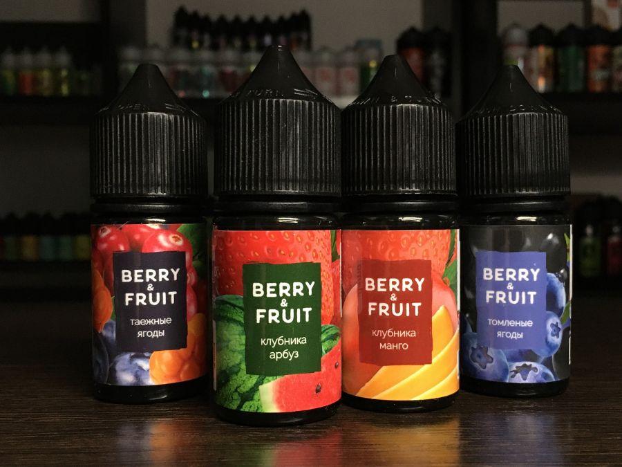 Жидкость BERRY&FRUIT 30мл