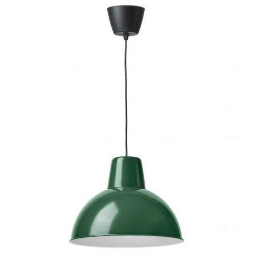 SKURUP СКУРУП, Подвесной светильник, темно-зеленый, 38 см - 304.895.22
