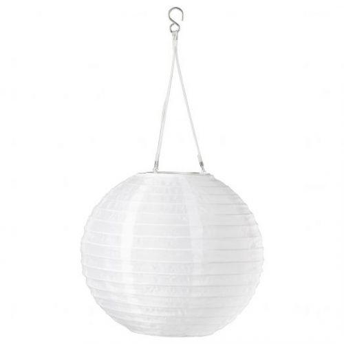 SOLVINDEN СОЛВИДЕН, Подвесная светодиодная лампа, для сада/шаровидный белый, 30 см - 604.843.11