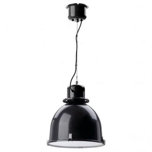 SVARTNORA СВАРТНОРА, Подвесной светильник, черный, 38 см - 504.519.00