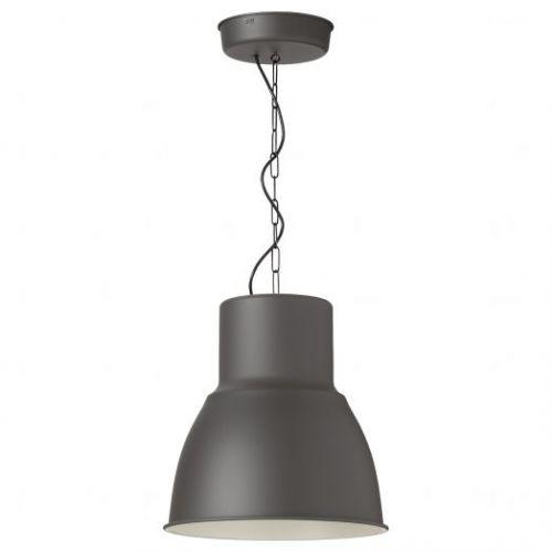 HEKTAR ХЕКТАР, Подвесной светильник, темно-серый, 38 см - 603.998.03