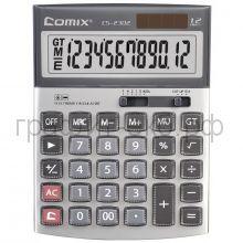 Калькулятор Comix CS-2302 12р. акриловое покрытие клавиш