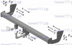 Фаркоп (тсу) Мотодор, крюк на болтах, тяга 1.8т