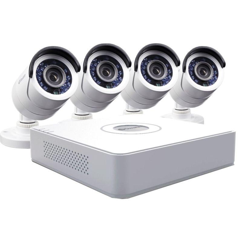 Комплект 4 камеры  HiWatch 2Мп
