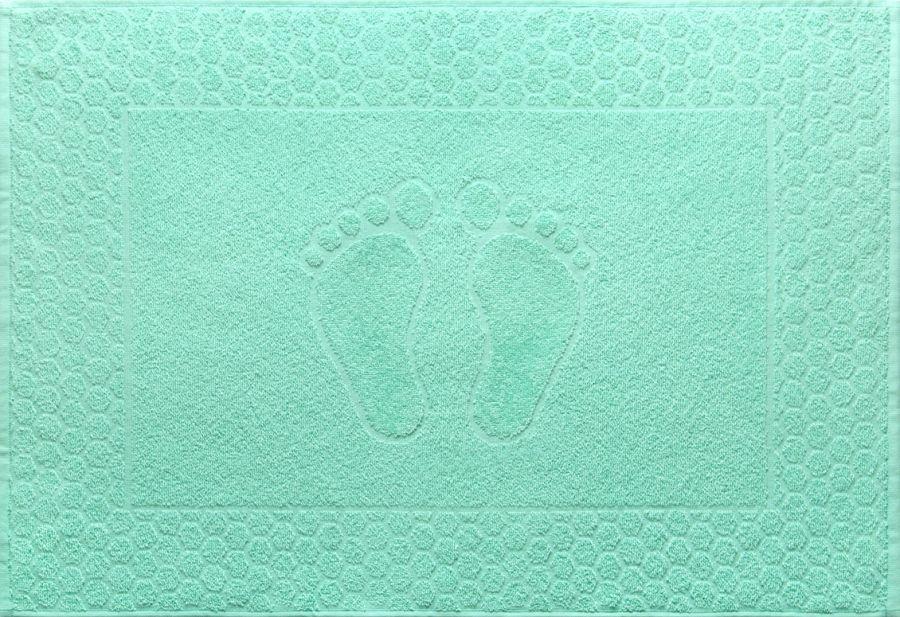 Полотенце махровое Мята (Ножки) [распродажа]