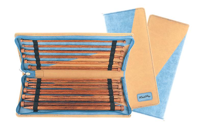 Набор прямых деревянных спиц Knit Pro Ginger (KNPR.31285)