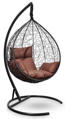 Подвесное кресло-кокон SEVILLA каркас черный