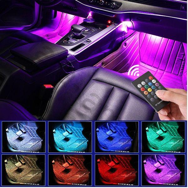 Атмосферная LED подсветка салона (неон)