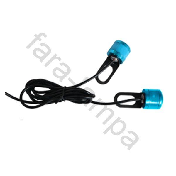 Автомобильные стробоскопы светодиодные синие 2 шт.