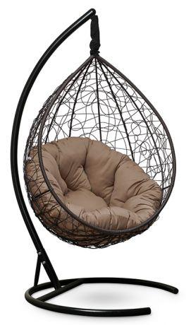 Подвесное кресло SEVILLA VERDE каркас коричневый