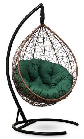 Подвесное кресло SEVILLA VERDE каркас горячий шоколад