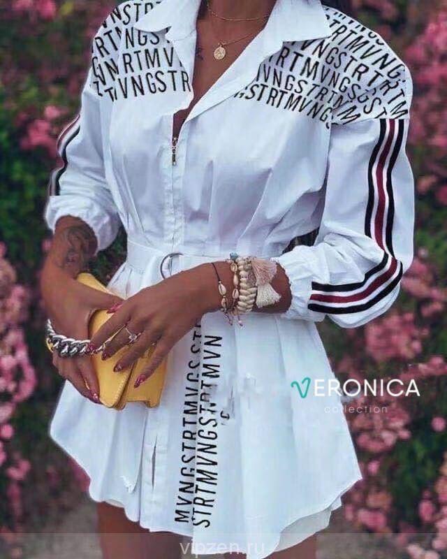 Стильные платье - туника