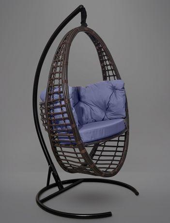 Подвесное кресло-кокон Derbent каркас коричневый