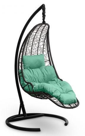 Подвесное кресло-кокон LUNA каркас черный