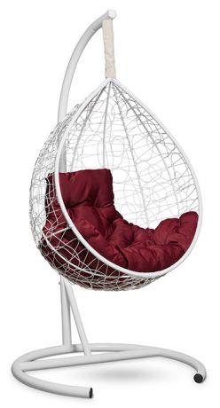 Подвесное кресло-кокон SEVILLA COMFORT каркас белый