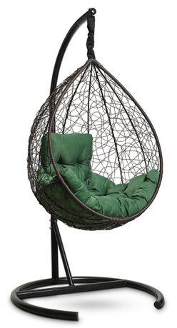 Подвесное кресло-кокон SEVILLA COMFORT каркас коричневый