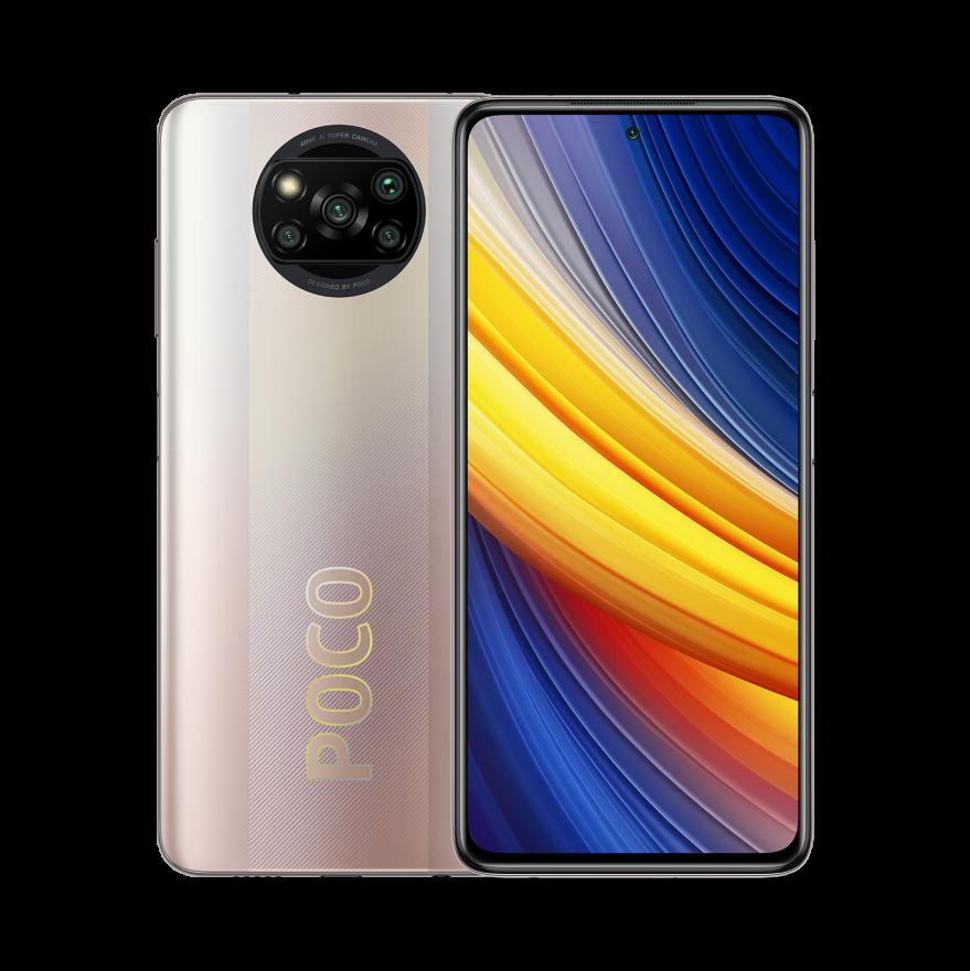Смартфон Xiaomi Poco X3 Pro 6/128GB (NFC), Metal Bronze
