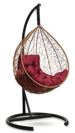Подвесное кресло-кокон SEVILLA COMFORT каркас горячий шоколад