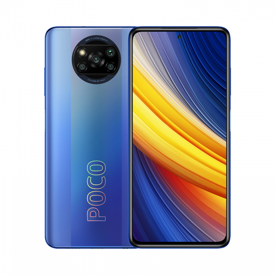 Смартфон Xiaomi Poco X3 Pro 6/128GB (NFC), Frost Blue