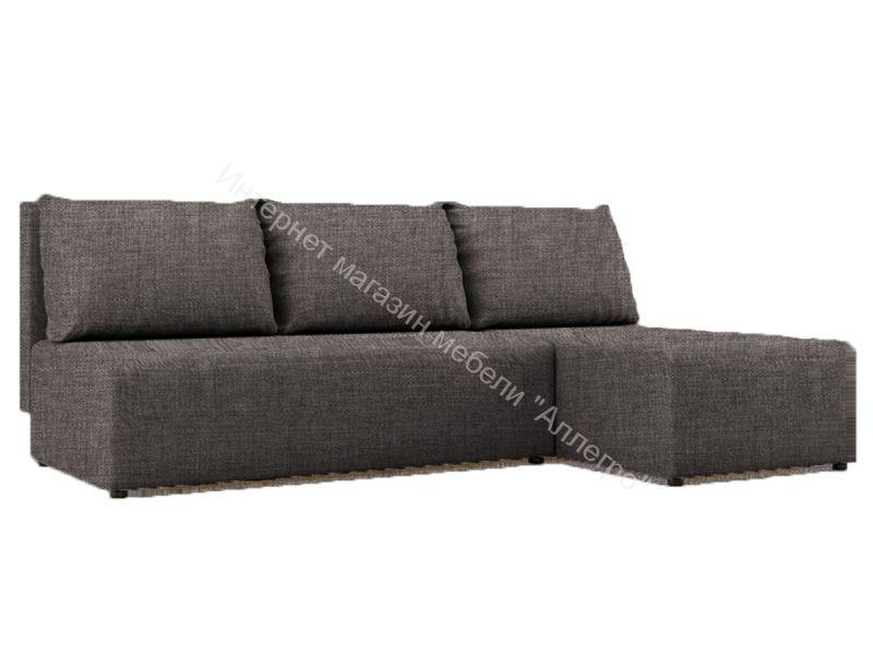"""Угловой диван """"Алиса"""" Savana Latte кат.1"""