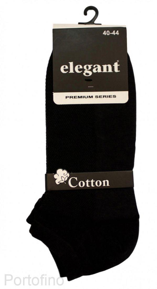 Носки мужские укороченные Elegant Qztas хлопок