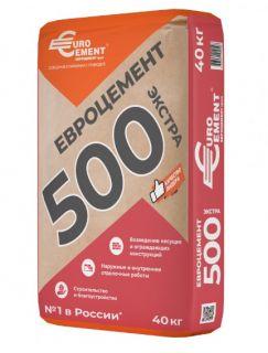 Цемент М500 (50 кг) Евроцемент
