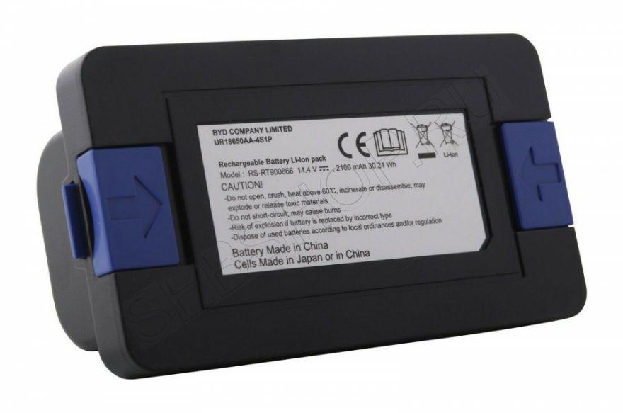 Аккумулятор  Li-ion 14,4/14,8 V для робота-пылесоса TEFAL моделей RG68..., RG72..., RG73..., RG74... Артикул RS-900866