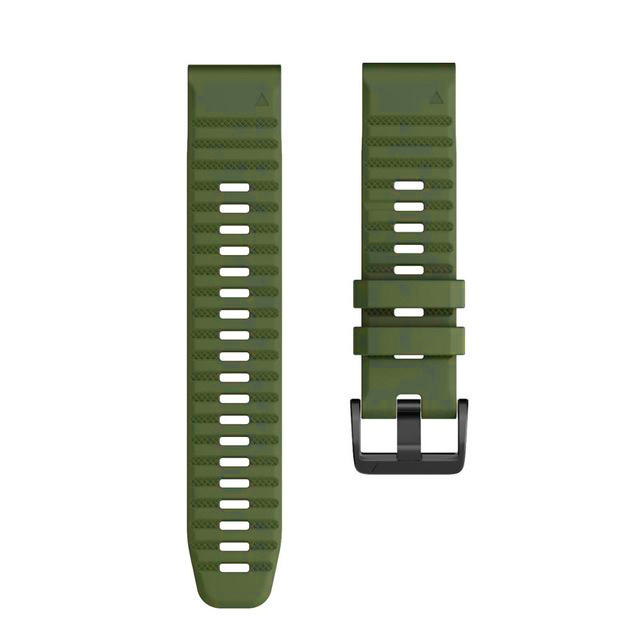 Ремешок сменный QuickStrap 22мм силиконовый хаки