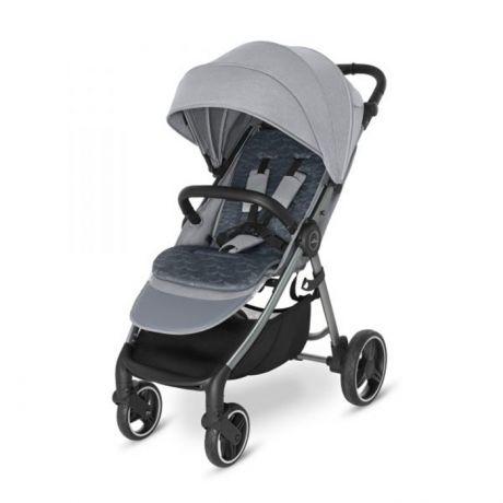 Прогулочная коляска Baby Design Wave Серебристо-серый