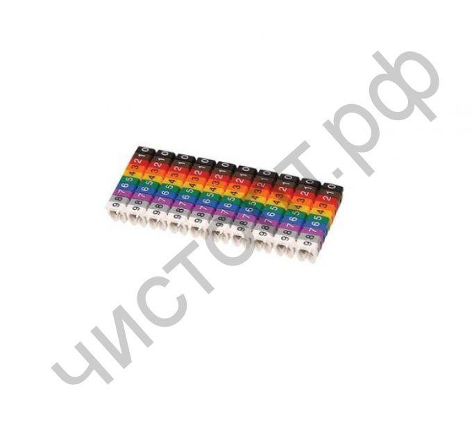 OXION Маркер кабельный 1,5 мм, набор 15 шт. (OX-CM1.5MM)