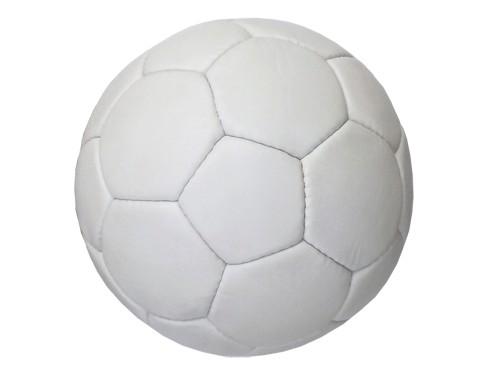 Мяч футбольный, цвет белый. Можно использовать для нанесения логотипов и автографов, артикул 12687