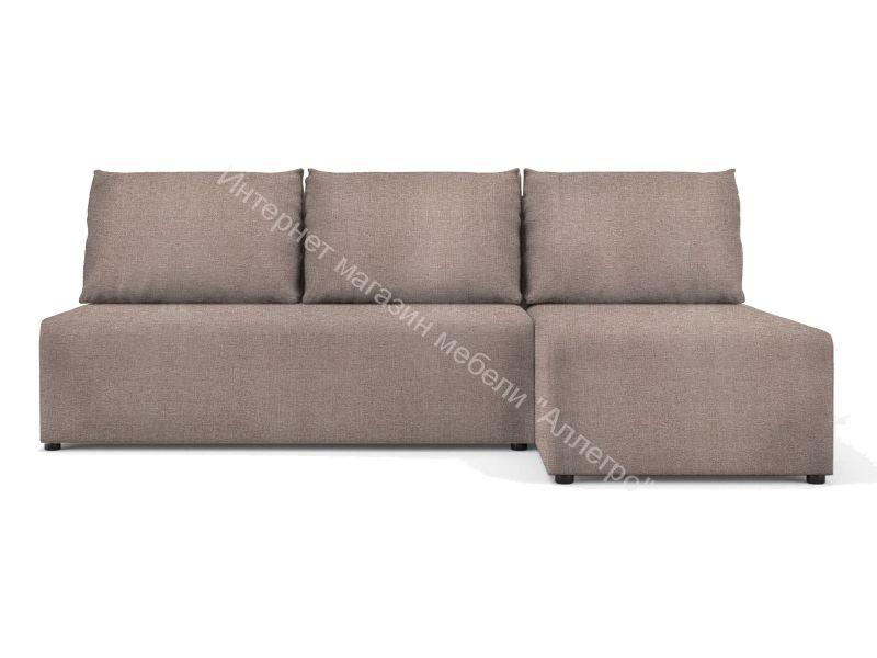 """Угловой диван """"Алиса"""" Savana Plus Mocca кат.1"""