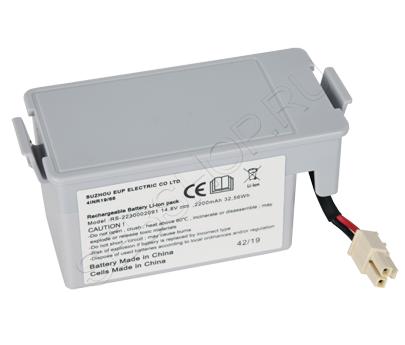 Аккумулятор  Li-ion 14,8 V для робота-пылесоса TEFAL модели RG7765WH/4Q0. Артикул RS-2230002091