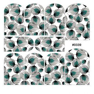 Слайдер-дизайн для ногтей № 0339