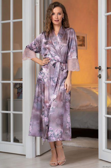 Длинный халат Mia-Amore Aurora 3659