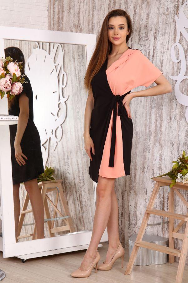 Платье 10387 [персиковый]