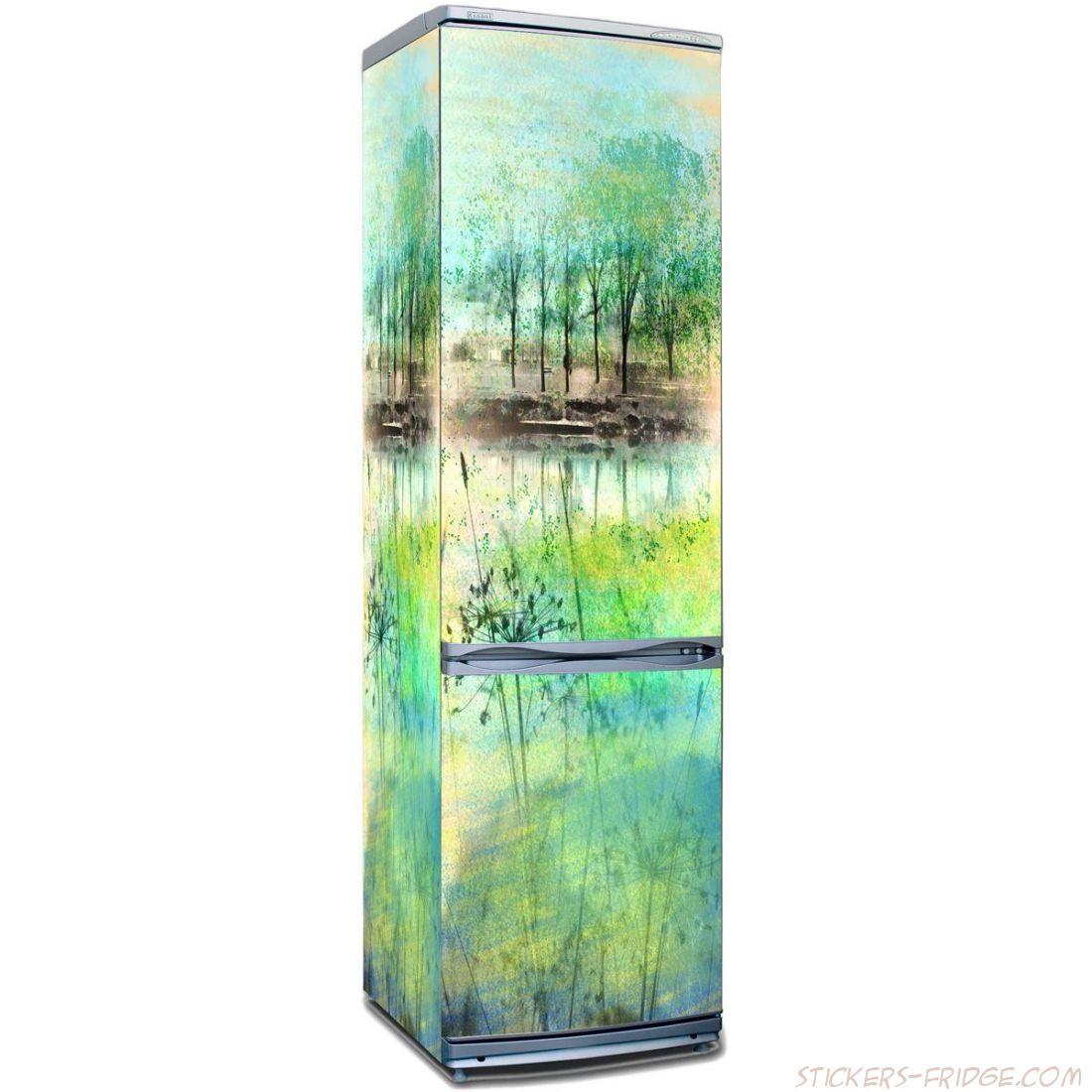 Наклейка на холодильник -  Ой! СЁёё, весна!